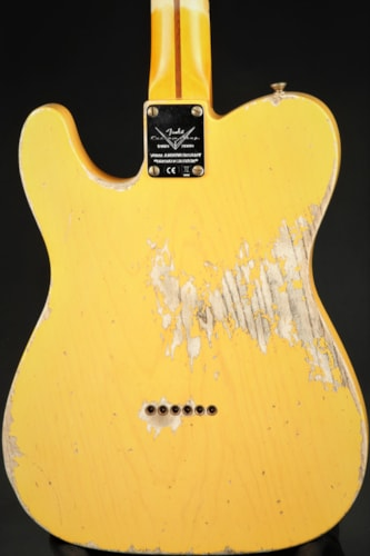 Fender Custom Shop Limited Edition 70th Anniversary Broadcaster Heavy Relic - Aged Nocaster Blonde