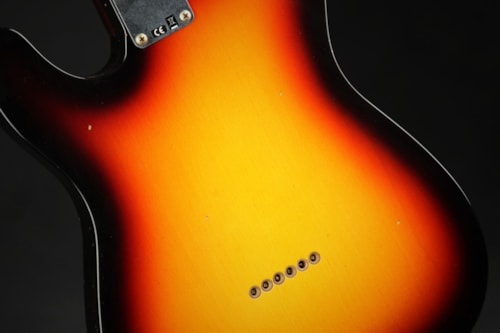 Fender Custom Shop 1961 Telecaster Journeyman - 3 Tone Sunburst (1961 reissue)