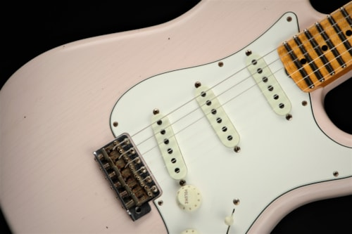 Fender Custom Shop Limited Edition Tomatillo Stratocaster Journeyman Relic - Super Faded Aged Shell
