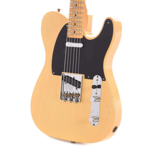 Fender Custom Shop Limited Edition 70th Anniversary Broadcaster Journeyman Relic Nocaster Blonde