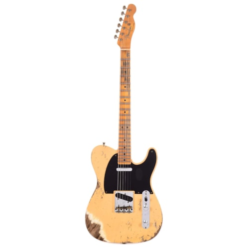 Fender Custom Shop Limited Edition 70th Anniversary Broadcaster Heavy Relic Aged Nocaster Blonde