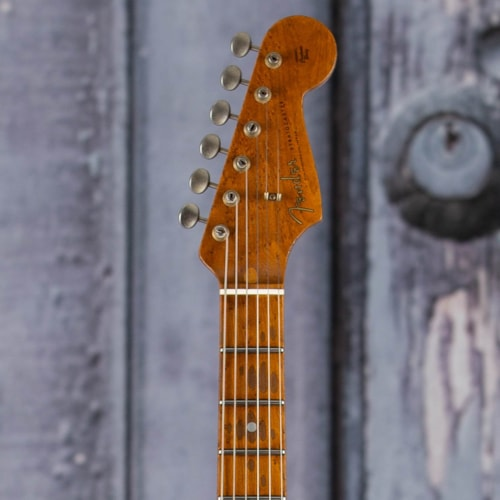 Fender Custom Shop Limited Edition '58 Special Stratocaster Relic, Faded Aged Candy Tangerine