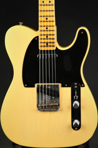 Fender Custom Shop Limited Edition 70th Anniversary Broadcaster Journeyman Relic - Nocaster Blonde