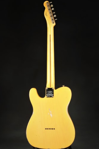 Fender Custom Shop Limited Edition 70th Anniversary Broadcaster Relic - Aged Nocaster Blonde