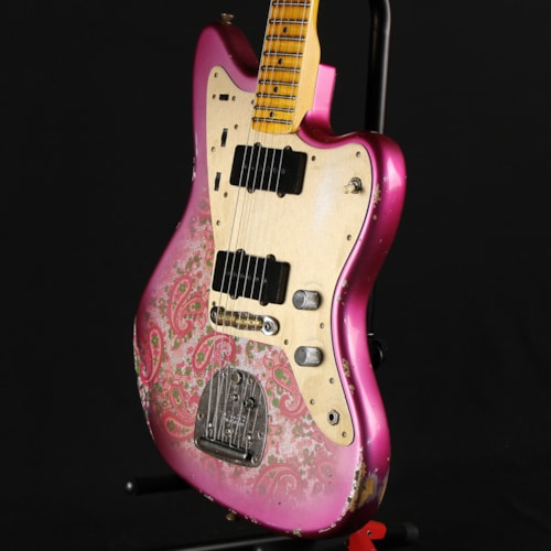Fender Custom Shop Limited Edition Jazzmaster Aged Pink Paisley Relic (CZ549894)