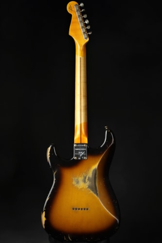 Fender Custom Shop Limited Edition Troposphere Strat HT Heavy Relic MN - Aged 2-Color Sunburst