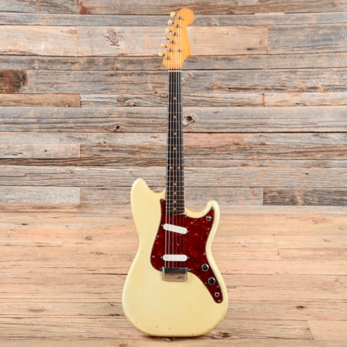 Fender Duo-Sonic 3/4 Olympic White 1960s