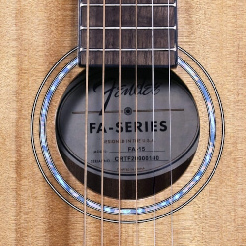 Fender FA-15 3/4 Scale Steel Acoustic Guitar with Rosewood Fingerboard w/ Bag (CRTF2000100)