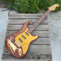 Fender George Amicay Carved Juris Prudence Stratocaster