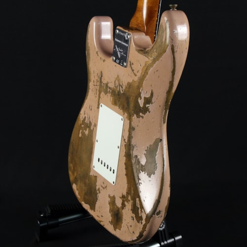 Fender Limited Edition Custom Shop '60/'63 Stratocaster Heavy Relic Dirty Shell Pink (CZ549790)