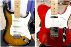 Fender Matching Set Texas Special Stratocaster and Telecaster