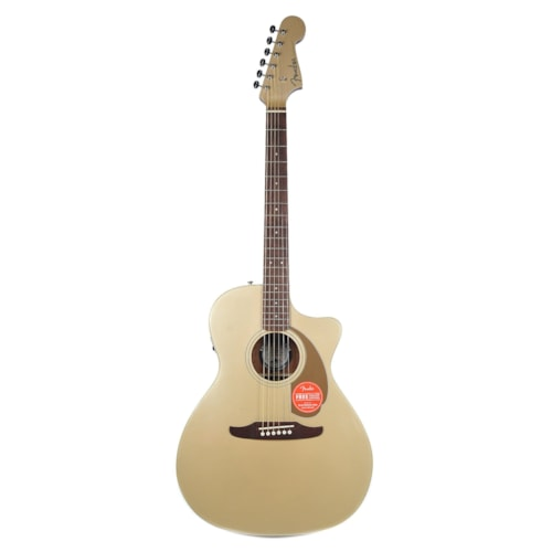 Fender Newporter Player Acoustic Champagne