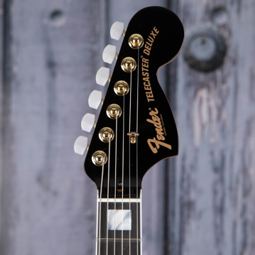 Fender Parallel Universe Volume II Troublemaker Tele Deluxe With Bigsby, Black