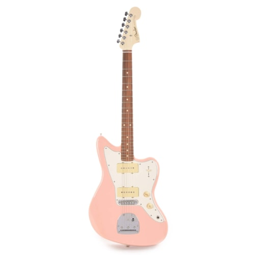 Fender Player Jazzmaster Shell Pink w/Olympic White Headcap, Pure Vintage '65 Pickups, & Series/Parallel 4-Way