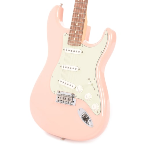 Fender Player Stratocaster Shell Pink w/3-Ply Mint Pickguard (CME Exclusive)