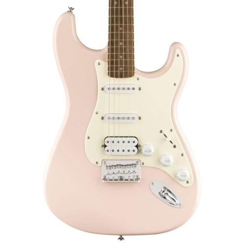 Squier Bullet Stratocaster HT HSS Shell Pink