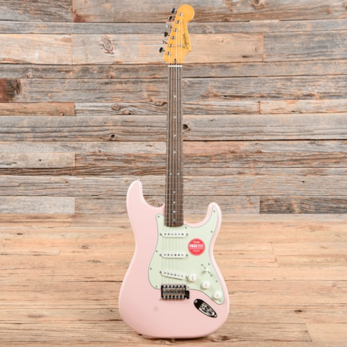 Squier Classic Vibe '60s Stratocaster Shell Pink w/Mint Pickguard (CME Exclusive)