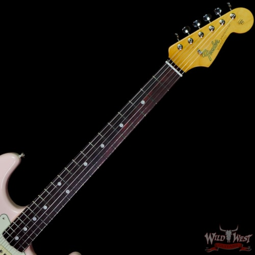 2021 Fender American Original '60s Stratocaster Rosewood Board Shell Pink