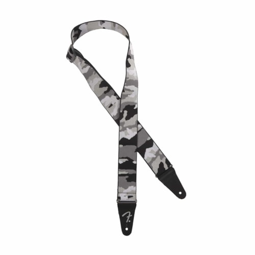 """Fender Weighless 2"""" Strap Winter Camo"""