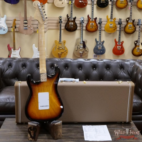 2021 Fender Custom Shop Greg Fessler Masterbuilt Quilt Maple Stratocaster 3 Tone Sunburst