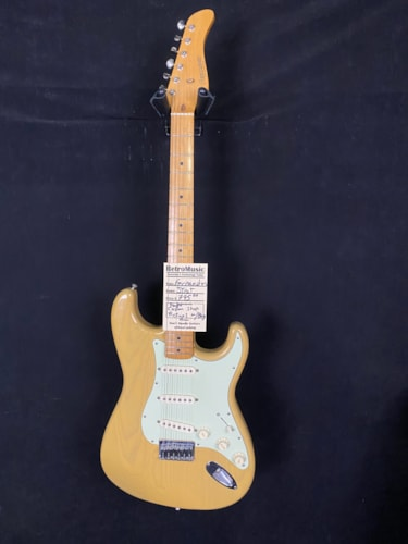 Fernandes Strat Copy See Through Blonde