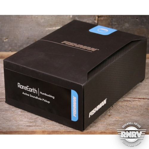 Fishman Rare Earth Active Humbucker Acoustic Pickup System (New Old Stock)