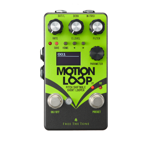 Free the Tone Motion Loop Green