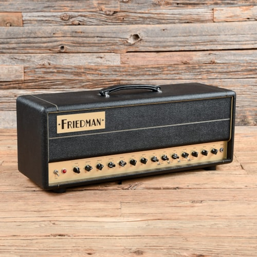 Friedman BE-50 Deluxe 50w Guitar Head w/Footswitch  USED