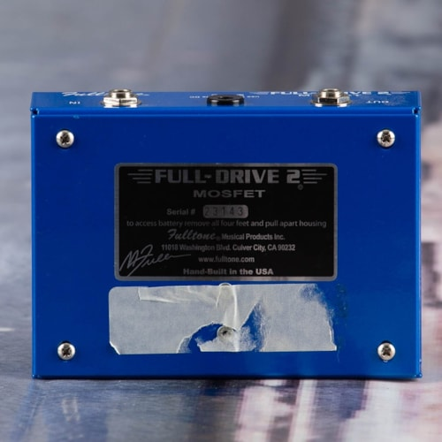 Used Fulltone Full-Drive 2 Mosfet Overdrive