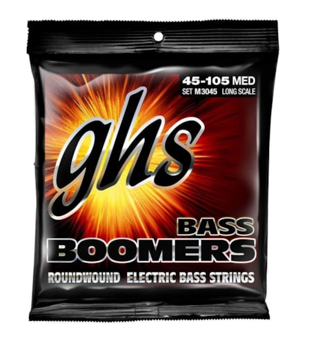 GHS Bass Boomers Long Scale M3045 45-105