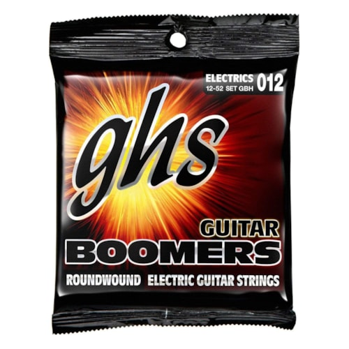 GHS GBH Boomers Heavy Electric Guitar Strings 12-52