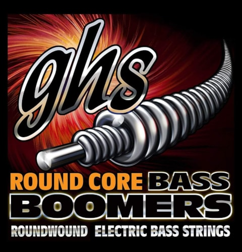 GHS Round Core Bass Boomers Universal Long Scale Medium Light 45-100
