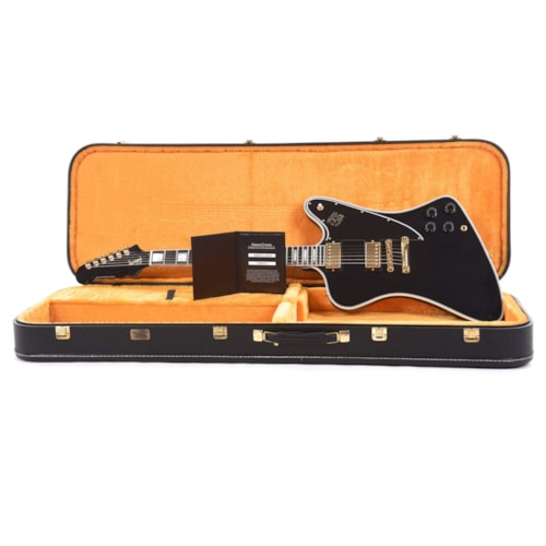 Gibson Custom Shop Firebird Custom Ebony Gloss w/Ebony Fingerboard