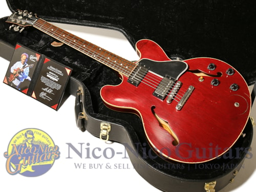 Gibson Custom Shop Lee Ritenour ES-335 Signed Aged Cherry