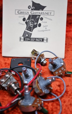 Gibson/Epiphone wiring harness