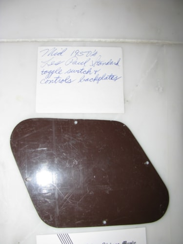 ~ 1956 Gibson Les Paul Standard brown backplates