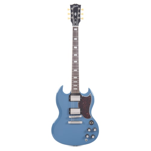 Gibson USA SG Standard Frost Blue w/Tortoise Pickguard & T-Type Pickups (CME Exclusive) Demo (Serial #217400075)