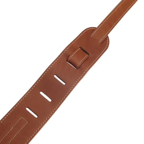 Gibson The Classic Leather Guitar Strap - Brown