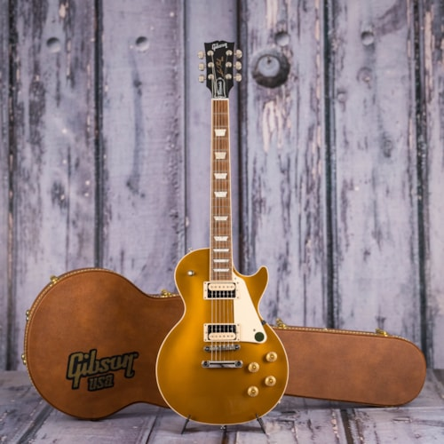 Used Gibson USA Les Paul Classic T, Gold Top