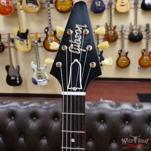 2021 Gibson Custom Shop Limited 1 of 81 the 1958 Korina Flying V Murphy Lab Aged Natural