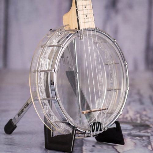Used Gold Tone Little Gem See-Through Banjo-Uke, Diamond