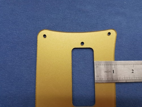 Golden Truss rod cover TRC and Pickguard set for Rickenbacker 4001 or 4003