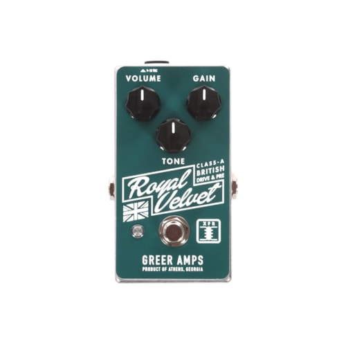 Greer Amps Royal Velvet Class-A British Drive and Pre