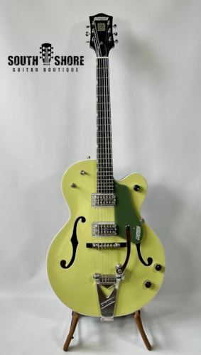 Gretsch G6118T Anniversary 2-Tone Green w/ Vibramate for Bigsby