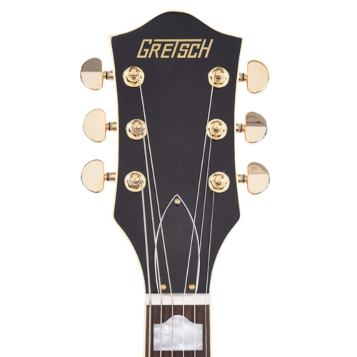 Gretsch G2410TG Streamliner Hollow Body Single-Cut and Gold Hardware Village Amber w/Bigsby