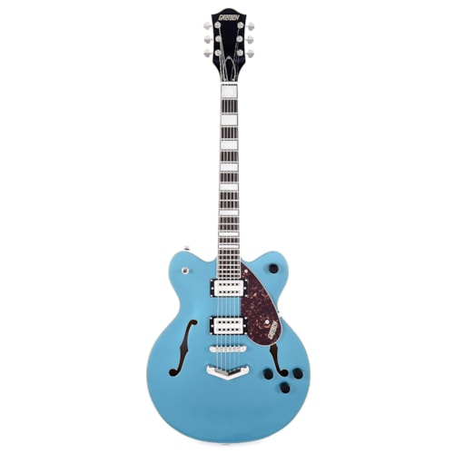 Gretsch G2622 Streamliner Center Block Double-Cut Ocean Turquoise w/V-Stoptail & Broad'Tron BT-2S Pickups USED