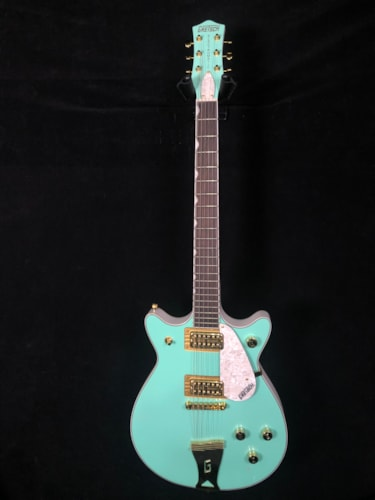 Gretsch G5237 Electromatic Double Jet FT Surf Green/White