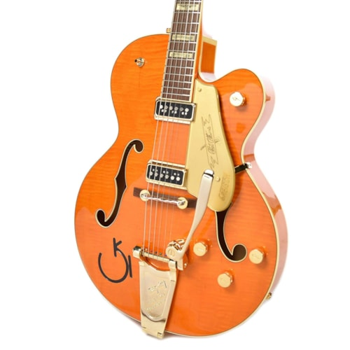 Gretsch G6120T-55 Vintage Select Edition 55 Chet Atkins Vintage Orange Stain Lacquer