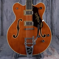 Gretsch G6620T Players Edition Nashville Center Block Double-Cut Semi-Hollowbody, Roundup Orange