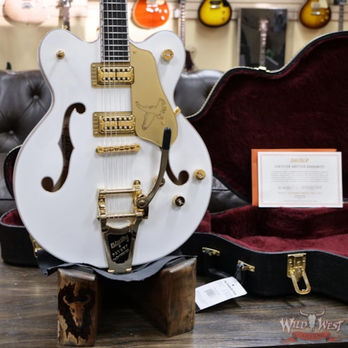 2020 Gretsch G6636T Player Edition Falcon with Center Block White